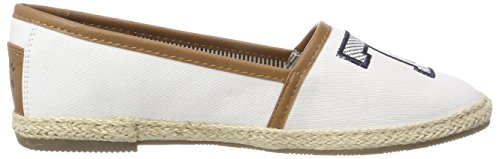 Tom Tailor Espadrilles white Weiß 4892008 Femme pYn8pqwFrC