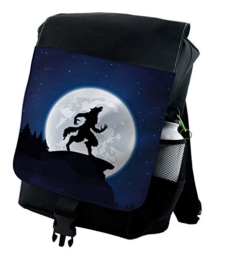 Ambesonne Backpack, Halloween Theme Design, Durable All-Purpose Bag