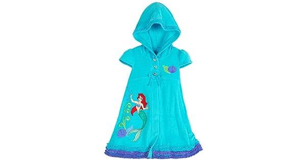 Amazon.com: Tienda de Disney Ariel la Sirenita con capucha ...
