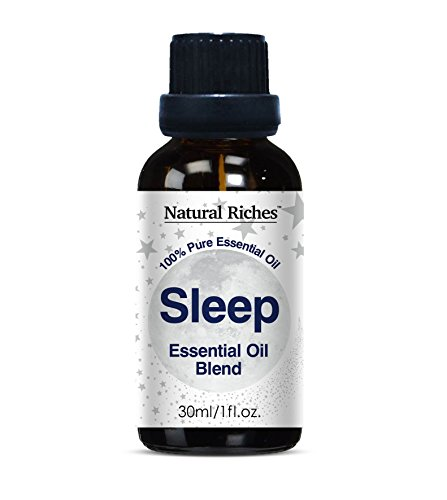 Aromatherapy Good Night Sleep Calming Blend Essential Oils -30ml 100% Pure and Natural Therapeutic Grade for Natural Sleep Aid, Relaxation, Stress, Anxiety Relief, Boost Mood and Helps - Smoke Purple Dark