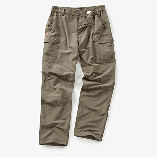 Craghoppers Hommes NosiLife Cargo Pantalon Black Pepper 42 Regular Leg
