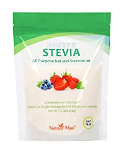 Natural Mate Stevia All Purpose Natural Sweetener, 1 Pound