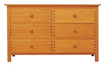 Amazon.com: greenington LLC gb0603 Hosta 6-drawer Dresser de ...