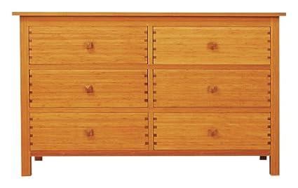 huge discount 7fa26 7be44 Amazon.com: Greenington LLC GB0603 Hosta 6-Drawer Bamboo ...