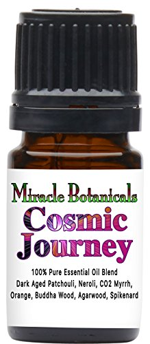 Miracle Botanicals Cosmic Journey Essential Oil Blend (Patchouli Essential Oil Blend) - 100% Pure Therapeutic Grade Essential Oils - 5ml
