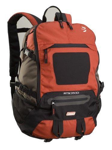 Proper fit of backpacks. Coleman RTX 3500 35L Backpack with Laptop Pocket (Dark Grey/Red)
