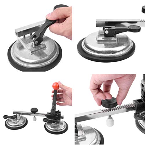 IMT Seam Setter with 4.9'' Vacuum Suction Cup for for Seam Joining and Leveling, Professional Countertop Installation Seaming Tool for Granite, Stone, Marble, Slab by IMT (Image #3)