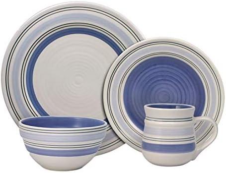 "Set of 4 Pfaltzgraff VILLA DELLA LUNA 8 1//2/"" Embossed Salad Plates VERY GOOD!"