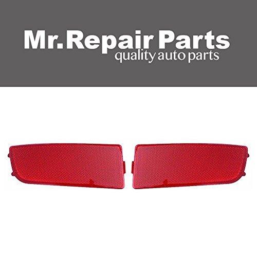 Mr Repair Parts Bumper Reflector for Dodge Mercedes Sprinter 9068260040 9068260140 (Left&Right)