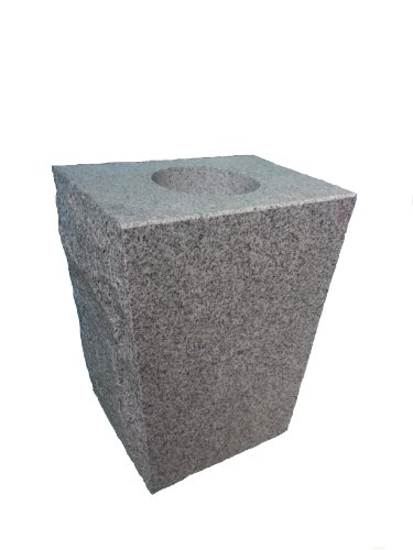 - Granite Vase Tapered 8