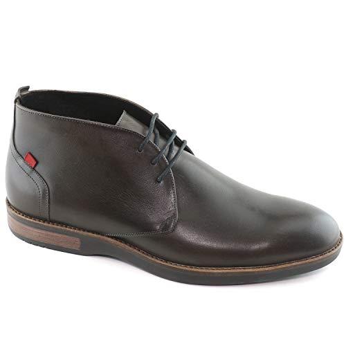 MARC JOSEPH NEW YORK Mens Leather Henry Street Boot Sneaker, Graphite Brushed Nappa, 11.5 D(M) US