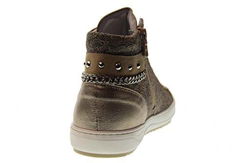 Bronzo Giardini P805082D Nero Donna Alte 312 Scarpe Sneakers 0X71nSd7