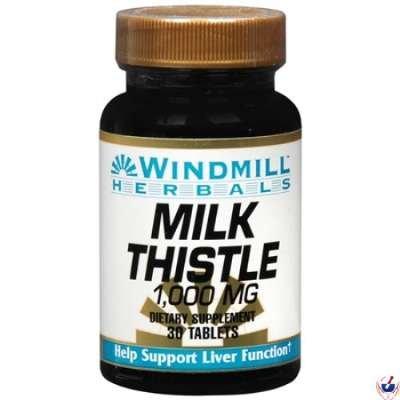 Windmill Milk Thistle 250 mg 30 Tablets - 4