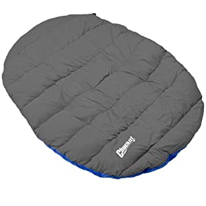 Chuckit! Travel Bed – Comfort on the Go – Blue/Gray – One Size