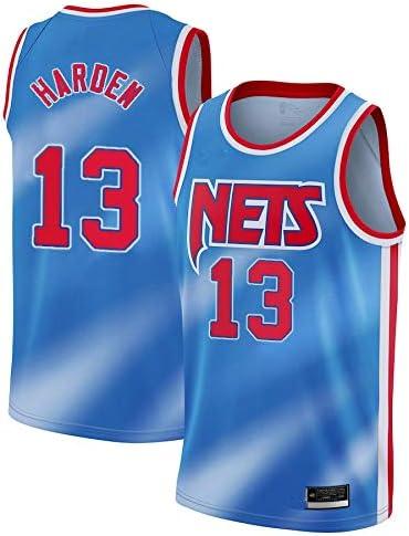 K/&S Sports Maillot James Harden Brooklyn Nets Bleu Maillot James Harden Brooklyn Nets Classic /Édition Swingman pour Homme