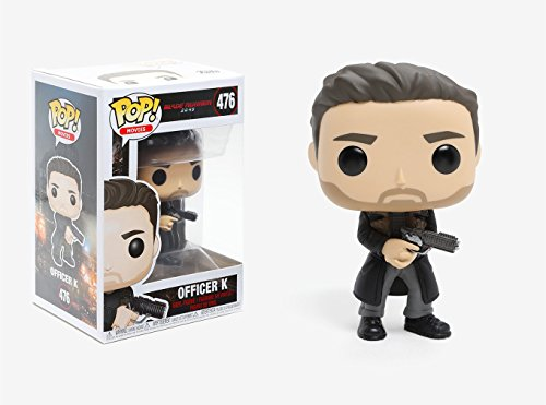 Funko Pop Movies: Blade Runner 2049 - Officer K Collectible Vinyl Figure (Runner Bobble Head)