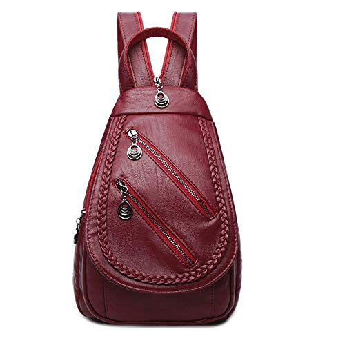 Donna Da Viaggio Da PU Borsa In Zaino Donna Fashion Pelle Zaino Redwineb Fashion qtw0BHt1