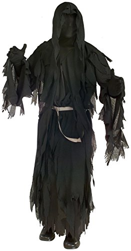 Lord Of The Ring Costumes (Rubie's Lord of The Rings Ringwraith Costume, Multicolor,)