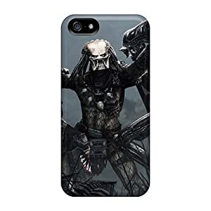 Fashion Protective Aliens Vs Predator Cases Covers For Iphone 5/5s