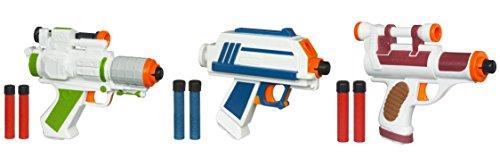 Rex Star Wars (Star Wars Clone Wars General Grievous Dart Blaster, Rex Blaster Dart Blaster & Cad Bane Dart Blaster Bundle)