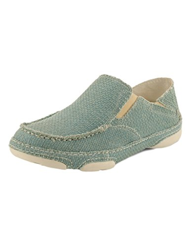 Tony Lama Casual Shoes Womens Oxford Moc Toe 9 B Ocean Blue RR3038L