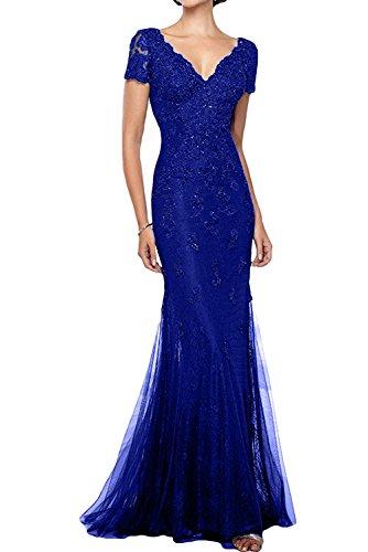 Donna Ivydressing da Chiffon kraftool festa vestito linea da sessualmente EF un'ampia royal blu abito sera qqBrRwS