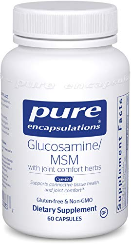 Pure Encapsulations - Glucosamine/MSM - Dietary Supplement Support for Healthy Joint Function and Tissues* - 60 ()