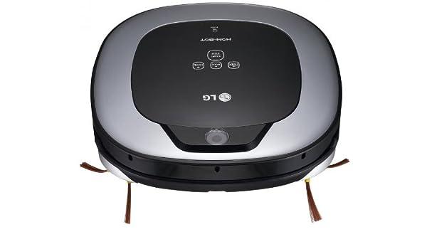 LG VR1126TS Hom-Bot 3.0 - Robot aspirador, color plateado: Amazon ...