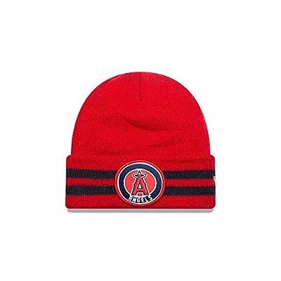 New Era Los Angeles Angels 2 Striped Remix Knit Hat