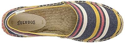 Soludos Women's Striped Original Platform Slipper