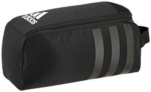 adidas Stadium II Team Shoe Bag, Black, One Size