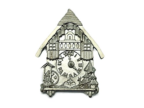 German Hat Pin: German Cuckoo Clock