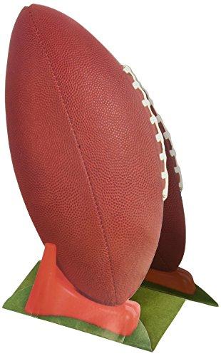 Beistle 50040 1-Pack 3D Football Centerpiece, 11-Inch ()