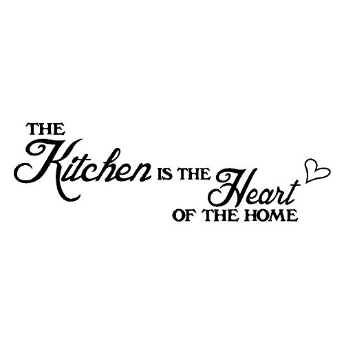 Wall Sticker, NEWSHRZ Kitchen Removable Art Vinyl Mural Home Room Decor Wall - Around Bathroom Mirrors Quotes Kids