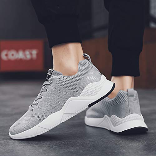 Amazon.com: Mens Running Shoes,Sharemen Fashion Breathable Sneakers Mesh Soft Sole Casual Athletic Lightweight: Clothing