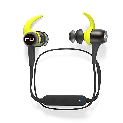 Optoma NuForce BESPORT3-GUNMETAL BE Sport3 Wireless Bluetooth In-Ear Headphones for sports, Gunmetal