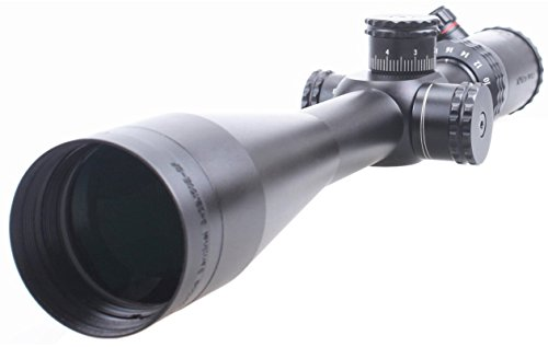 TAC Vector Optics Sentinel 8-32x50 Riflescope MP with Mark Ring , Honeycomb Sunshade Color Black (8-32x 50mm)