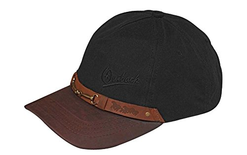 Outback Trading Equestrian Cap - Black (ONE)