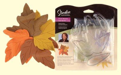 Sculpey Shape Makers -Leaf Set III
