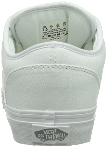 White Wei 7hn Sneaker W ATWOOD Canvas Vans Donna Bianco 7naq0USvS