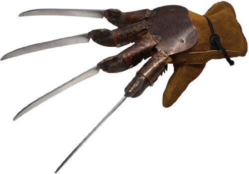 6591 Deluxe Freddy Glove Blister Pack Plastic -