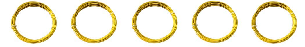25 Length 3//16 Coated OD Vinyl Coated Yellow 7x19 Strand Core Loos Stainless Steel 302//304 Wire Rope 1760 lbs Breaking Strength 1//8 Bare OD