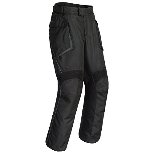 Cortech Sequoia XC Men's Textile Street Motorcycle Pants - Black / Large Small