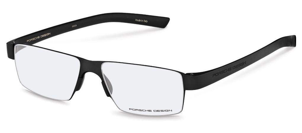 7f454ad9bbc5f Amazon.com  Porsche Design Ready Made Reading Glasses P8813 A Black 52-18 -  Men s (+ 2.00)  Health   Personal Care