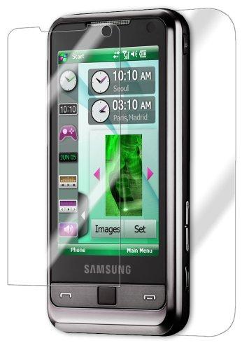 Samsung Omnia Screen Protector, IQ Shield LiQuidSkin Full Body Skin + Full Coverage Screen Protector for Samsung Omnia (i900) HD Clear Anti-Bubble Film - - I900 Lcd