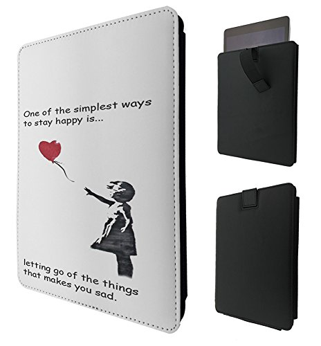 C0066 - Banksy Graffiti Art Balloon Girl Funky Quote For All Amazon Kindle Fire Hd 7
