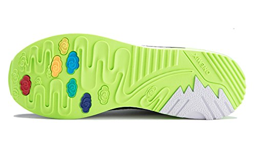 Onemix Running Black Reflective Mesh Sports shine Footwear Cushion Green Dazzle Air Sneakers qxqrBgHw