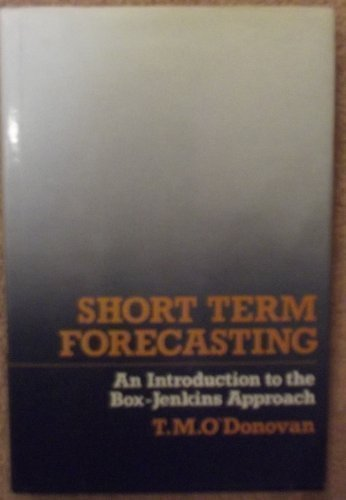 Short Term Forecasting: Introduction to the Box-Jenkins Approach