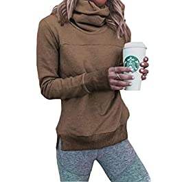 Women's  Fleece Lined Winter Pullover Tunic Shirt