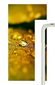 Samsung Galaxy S5 Yellow Droplets PC Custom Samsung Galaxy S5 Case Cover White
